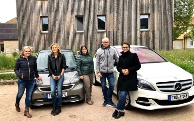 Schäftersheim wird elektromobiler: Carsharing Testphase startet