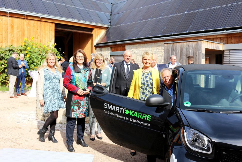 Car & Mansharing Projekt Smarte KARRE erfolgreich gestartet