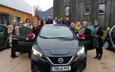 """Der """"Neue"""" ist da – ein weiteres Elektoauto für Schäftersheim"""