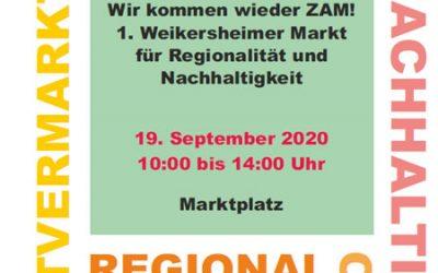 """""""Wieder ZAM kommen"""" und den Klimawandel bremsen"""
