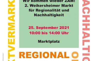2. Markt für Regionalität und Nachhaltigkeit